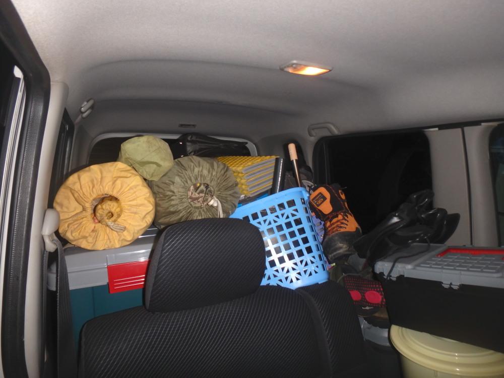 何もない山の中へ移住する第一歩、実家から軽自動車で荷物を搬入する