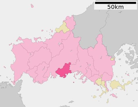 防府市位置図