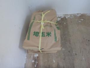 薪の米袋梱包